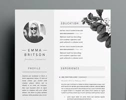 Resume Template 5 pages | CV Template + Cover Letter + References for MS  Word |
