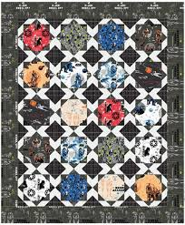 Star Wars Quilt Pattern