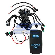 Led Light Bar Switch Wiring Details About Blue Light Bar Rocker Switch Wire Harness Combo Utv Polaris Rzr 1000 Rzr4 Crew X