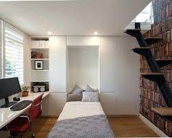 houzz office desk. Best Modern Home Office Ideas Photos Houzz Small Minimalist Built In Desk Medium Tone