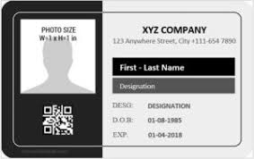 Microsoft Word Printable co Templates - Id Cards Card Reeviewer Free