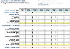 Weekly Cash Flow Workbook Operations Management Budget