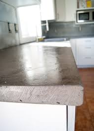 beautiful d i y concrete counters wet look sealer