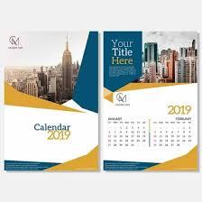 Calender Design Template Free Desk Calendar Design Template 2019 Psd Calendar Design
