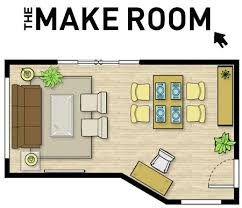 Then, choose your room layout (or one almost like it  you can drag and  drop to customise later). You can also create a new plan by typing your  measurements ...