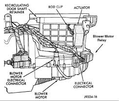 where is the blower motot relay on a jeep gran cherokee graphic