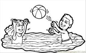 Volleyball Color Pages Water Volleyball Rdax 65 Coloring Page Free Volleyball Coloring