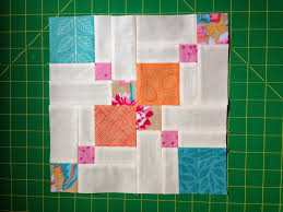 A Few Scraps: Double Disappearing Nine-Patch Improved Tutorial & ... nine patch. After you've sewn the final block together it will be 12  3/4