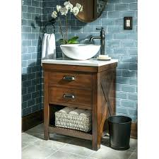 Vessel Sink And Vanity Bathroom With Bowl Wonderful  On Top Of  Bowls35
