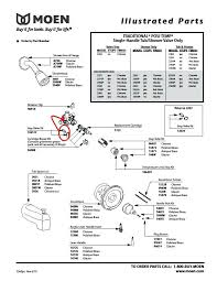 replacing a moen kitchen faucet cartridge how to fix a single handle bathtub faucet image bathroom