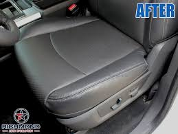 2016 2018 dodge ram 1500 sport perforated leather seat passenger bottom black