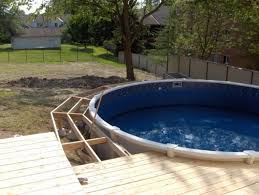 plain and fresh above ground swimming pool deck designs 7 for pool and deck designs c