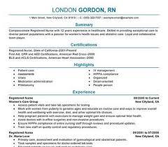 Resume Templates Nursing Best Free Nursing Resume Templates Migrante