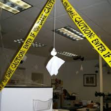 office theme ideas. Theme Ideas · Halloween Scary Office Tape From Getitcut.com
