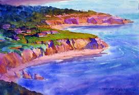 oregon coast living watercolor carl dalio cruising the river of living color