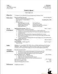 How To Make A Resume For A Job Profesional Resume Template