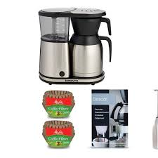 bonavita 8 cup coffee maker with thermal carafe and accessory bundle groupon