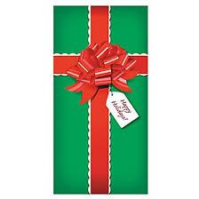 Decorating red door gifts photos : Amazon.com: CHRISTMAS PRESENT/Gift DOOR BANNER Holiday DECORATION ...