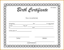 Birth Certificate Template Uk Natashamillerweb