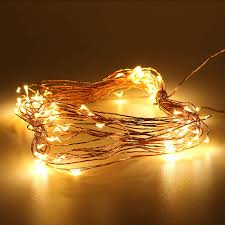 Warm White Light String Lpinye Christmas Light String Battery Powered Warm White 33ft 100 Leds Copper Wire Super Thin String Stars Led Fairy Lights Weddings And Parties