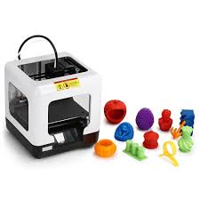 <b>FULCRUM MINIBOT 1.0</b> White US Plug (3-pin) 3D Printers, 3D ...