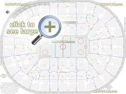 Rose Quarter Seating Chart With Rows Moda Center Rose Garden Arena Seat Row Numbers Detailed