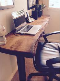 cool things for your office. Cool Things For Your Office Desk Decor Idea With Fascinating Live Edge That I Made N