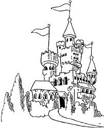 Disegno 1 Di Castelli Da Colorare