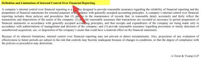Audit Report Examples Sample Audit Reports Of Facebook