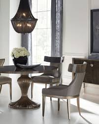 Luxury Dining Tables At Neiman Marcus Magnificent Designer Dining Room Sets