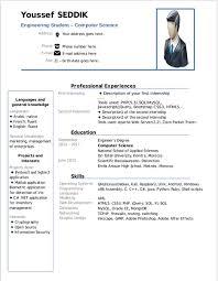 Resume Curriculum Vitae Beautiful Resume Template Libreoffice Free