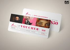 Free Download Fashion Shop Voucher Template