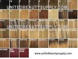 Hair Extension Color Chart Fashion Source Hair Extensions Color Chart In Fashion