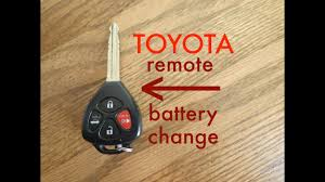 How to <b>Toyota</b> Key Fob Remote Keyless Battery Change/Replace ...