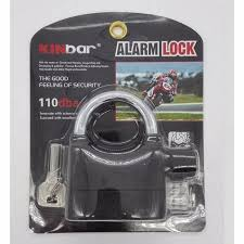 philippines love home alarm padlock for door motor bike car 110db anti theft security