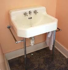 interesting cast iron bathroom sink vintage white porcelain wall mount faucets old antique