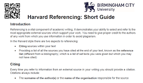 Harvard Citing Citation Style Guides 2019 02 05