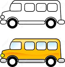 Small Picture School Bus Printable Coloring Page For Children Or You Can
