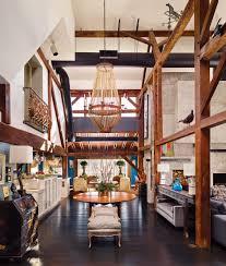 rafael novoa and robert lieberman of rafael novoa interior design converted their upper makefield barn into