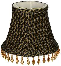 lamp chandelier lamp shades upgradelights set of 6 barrel shades 5 inch black silk with