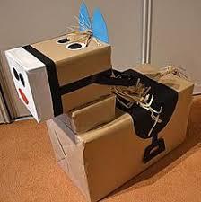 Afbeeldingsresultaat voor kartonnen pakjesboot sinterklaas
