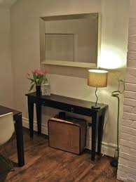 thin console hallway tables. Attractive Thin Console Hallway Tables With Black Hall Narrow A