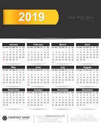 Calendar Free Downloads 2019 Calendar Vector Free Download