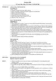 Truck Driver Resume Samples Velvet Jobs