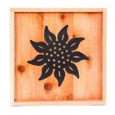 wood wall art with sunflower design on outdoor wall art home depot with wood outdoor wall decor outdoor decor the home depot