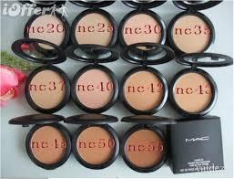 mac makeup studio fix powder 15 gram 10pcs lot