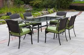 exquisite decoration 8 person outdoor dining table fancy design