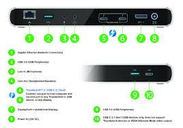 Dell Docking Station Compatibility Chart Plugable Tbt3 Ud1 83 Thunderbolt 3 Docking Station Single