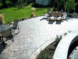 Stamped concrete patio with stairs California Weave Stamped Cement Patio Designs Gypsy Stamped Cement Patio Designs About Remodel Amazing Interior Design For Home Remodeling Cement Patio Cement Patio Designs Amazing Stamped Cement Patio For Stamped
