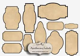 Apothecary Jar Labels Template Archives Madhurbatter Editable
